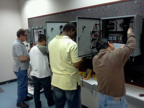 electrical motor control lab